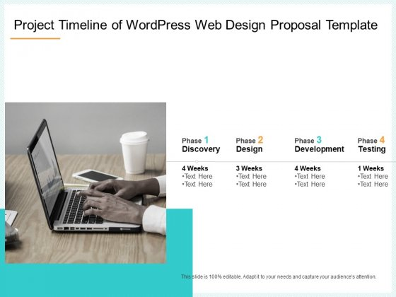 Website Revamp Quotation Project Timeline Of Wordpress Web Design Proposal Rules PDF
