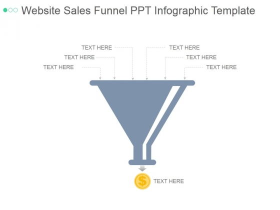 Website Sales Funnel Ppt PowerPoint Presentation Sample