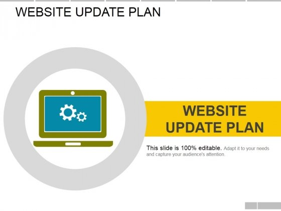 Website Update Plan Ppt PowerPoint Presentation File Slide Portrait