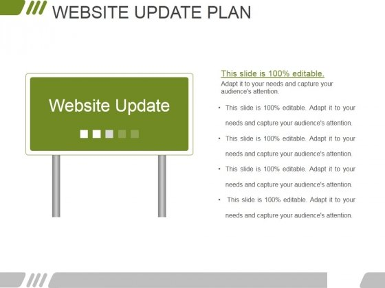 Website Update Plan Ppt PowerPoint Presentation Infographic Template Demonstration