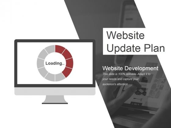 Website Update Plan Ppt PowerPoint Presentation Pictures Gallery