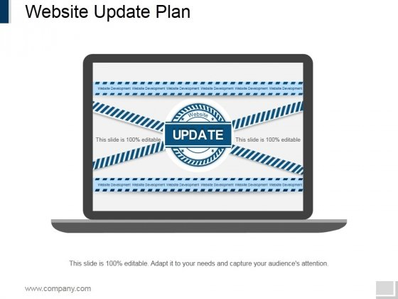 Website Update Plan Ppt PowerPoint Presentation Slides Templates
