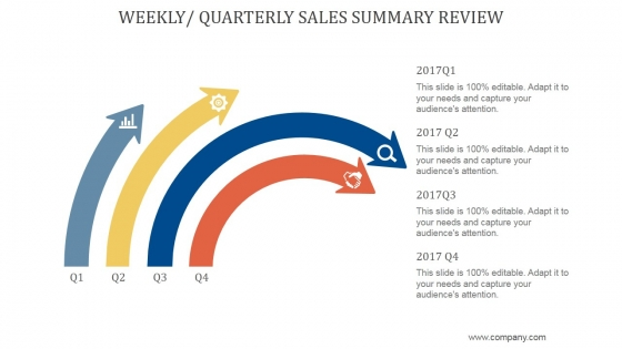 Weekly_Quarterly_Sales_Summary_Review_Ppt_PowerPoint_Presentation_Templates_Slide_1
