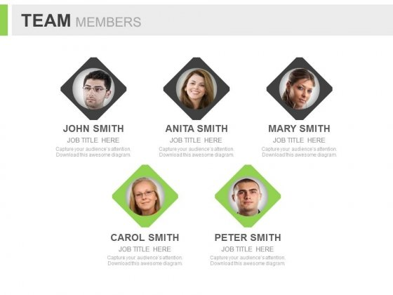 Welcome New Members Of Your Team Powerpoint Slides