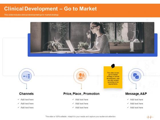 Wellness Program Promotion Clinical Development Go To Market Ppt PowerPoint Presentation Styles Outline PDF