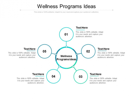 Wellness Programs Ideas Ppt PowerPoint Presentation Slides Graphic Images Cpb