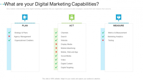 What Are Your Digital Marketing Capabilities Internet Marketing Strategies To Grow Your Business Rules PDF