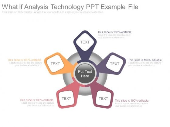 What If Analysis Technology Ppt Example File