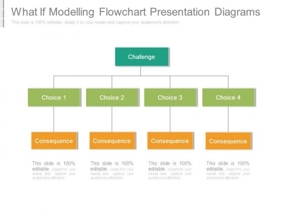 What If Modelling Flowchart Presentation Diagrams