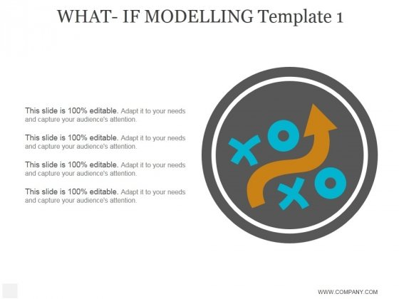 What If Modelling Template 1 Ppt PowerPoint Presentation Layout