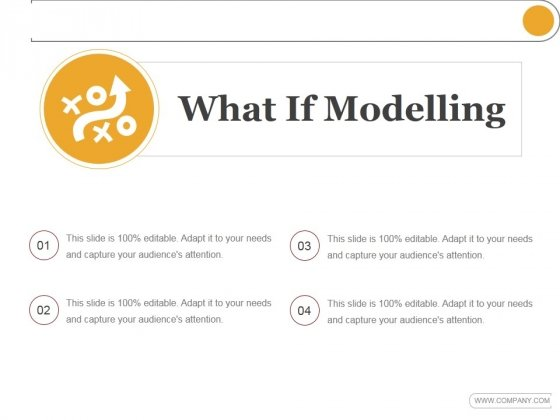 What If Modelling Template 1 Ppt PowerPoint Presentation Sample
