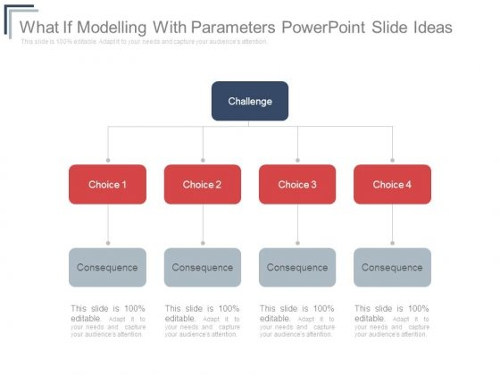 What If Modelling With Parameters Powerpoint Slide Ideas