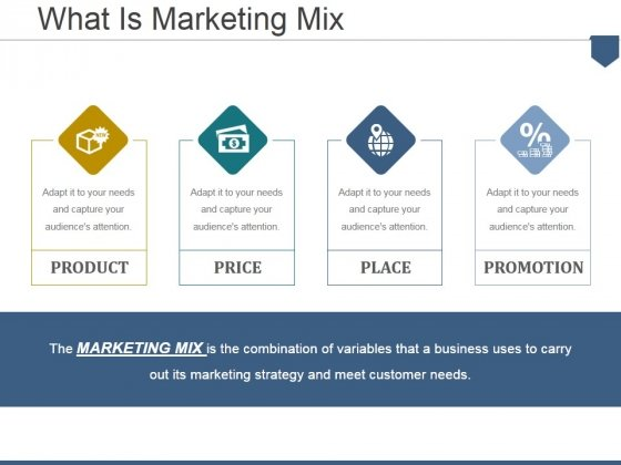 What Is Marketing Mix Ppt PowerPoint Presentation Show Example