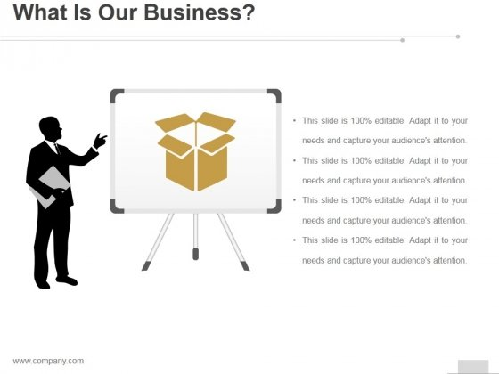 What Is Our Business Ppt PowerPoint Presentation Samples