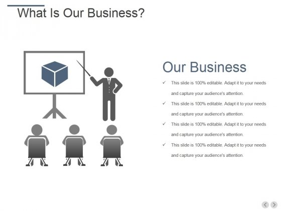 What Is Our Business Ppt PowerPoint Presentation Slides Show