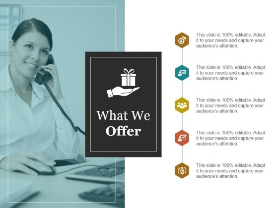 What We Offer Template Ppt PowerPoint Presentation Ideas Format