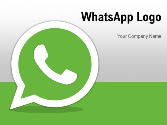 Whatsapp Logo Mobile Phone Bold Outline Ppt PowerPoint Presentation Complete Deck