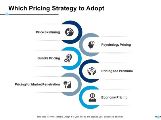 Which Pricing Strategy To Adopt Pricing At A Premium Ppt PowerPoint Presentation Icon Display