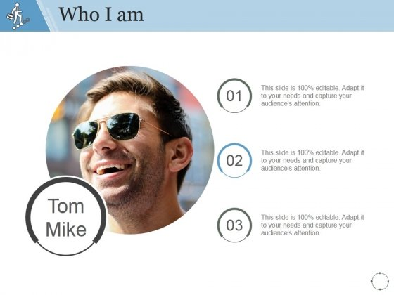 Who I Am Ppt PowerPoint Presentation Designs