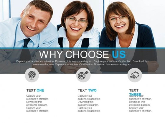 Why Choose Us Page Design Powerpoint Slides