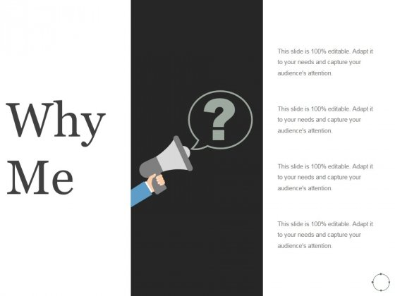Why Me Ppt PowerPoint Presentation Picture