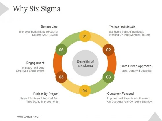 Why Six Sigma Ppt PowerPoint Presentation Introduction