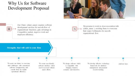 Why_Us_For_Software_Development_Proposal_Ppt_Professional_Layouts_PDF_Slide_1