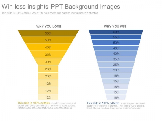 Win Loss Insights Ppt Background Images