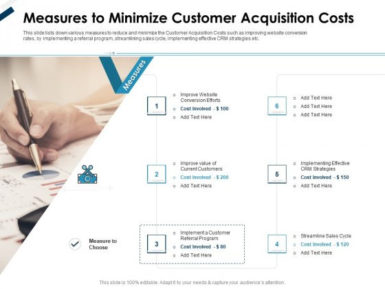 Winning New Customers Strategies Measures To Minimize Customer Acquisition Costs Ideas PDF