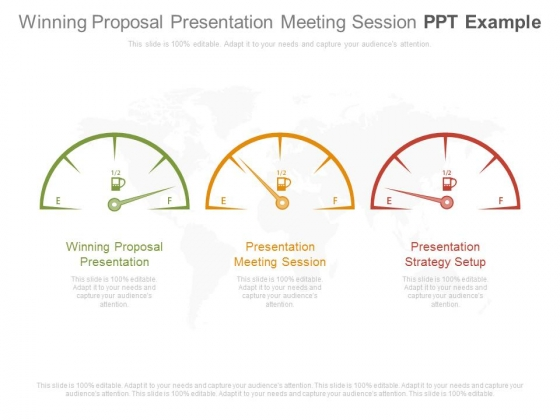 Winning Proposal Presentation Meeting Session Ppt Example