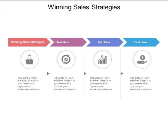 Winning Sales Strategies Ppt PowerPoint Presentation Inspiration Backgrounds Cpb Pdf