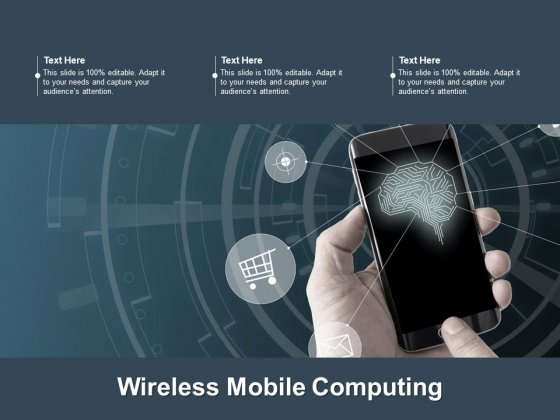 Wireless Mobile Computing Ppt PowerPoint Presentation Visual Aids Gallery Cpb