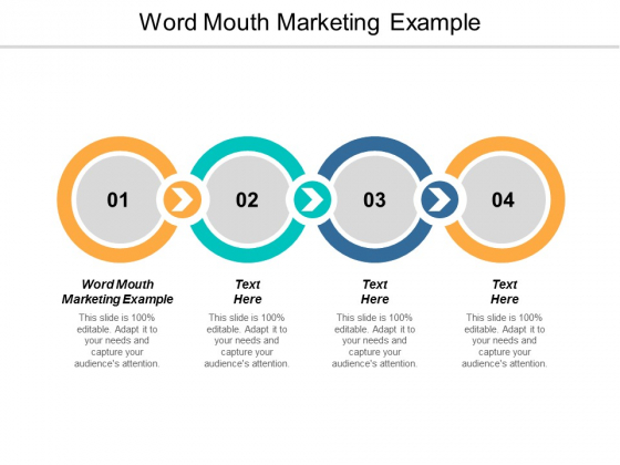 Word Mouth Marketing Example Ppt PowerPoint Presentation Summary Demonstration Cpb