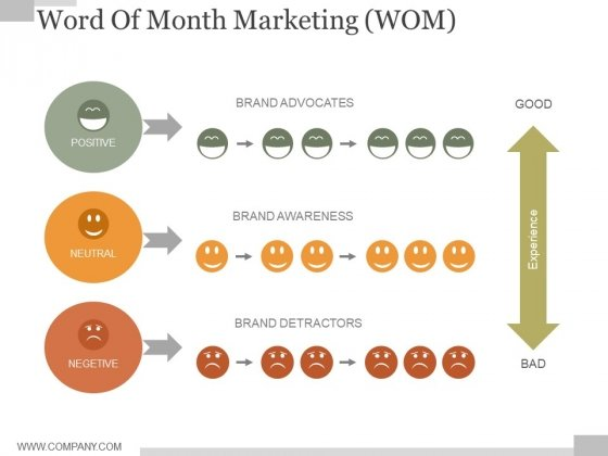 Word Of Month Marketing Ppt PowerPoint Presentation Infographics