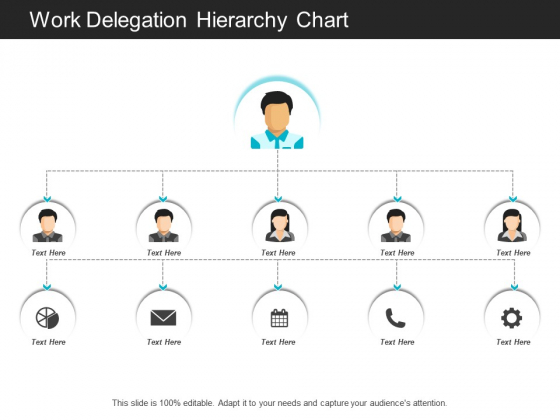 Work Delegation Hierarchy Chart Ppt PowerPoint Presentation File Graphic Images