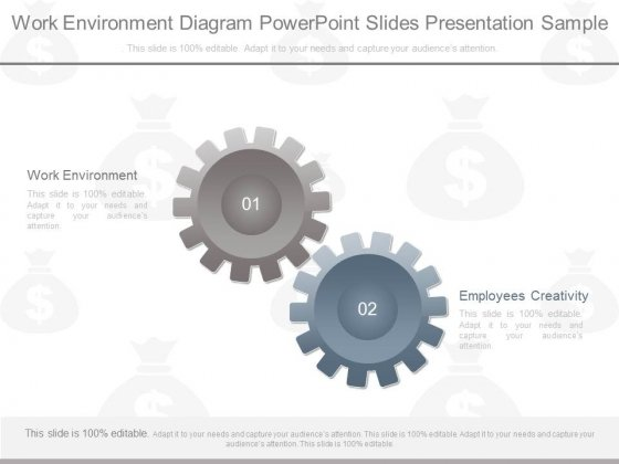 Work Environment Diagram Powerpoint Slides Presentation Sample