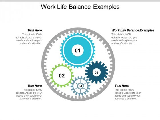 Work Life Balance Examples Ppt PowerPoint Presentation Ideas Microsoft Cpb