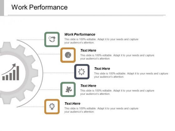 Work Performance Ppt Powerpoint Presentation Pictures Infographic Template Cpb