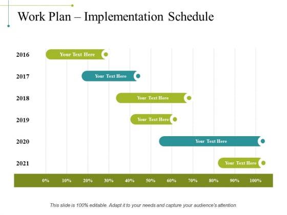 Work Plan Implementation Schedule Ppt PowerPoint Presentation Designs Download