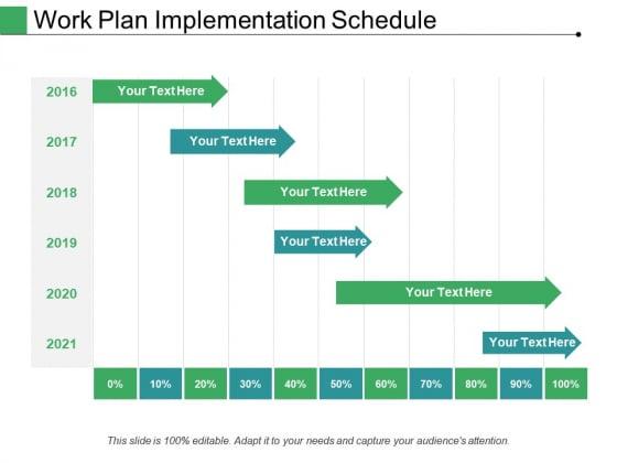 Work Plan Implementation Schedule Ppt PowerPoint Presentation Icon Inspiration