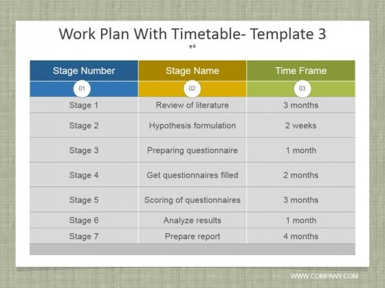 Work_Plan_With_Timetable_Template_3_Ppt_PowerPoint_Presentation_Inspiration_Styles_Slide_1
