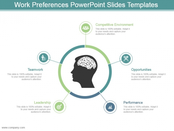 Work Preferences Powerpoint Slides Templates