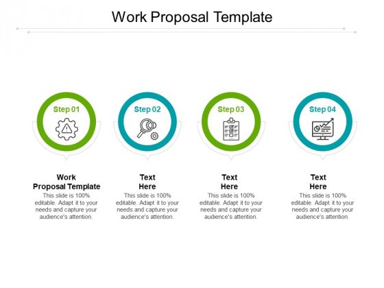 Work Proposal Template Ppt PowerPoint Presentation Shapes Cpb