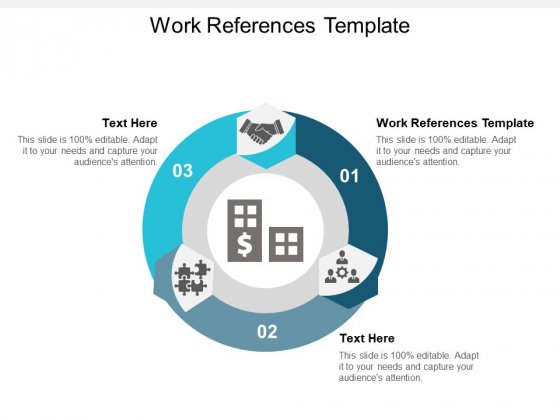 Work References Template Ppt PowerPoint Presentation Infographics Vector Cpb