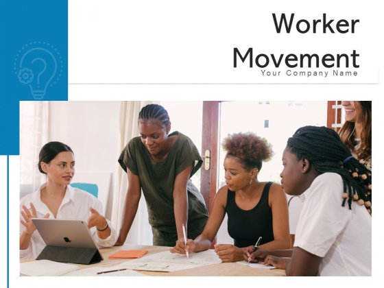 Worker Movement Employee Arrows Ppt PowerPoint Presentation Complete Deck