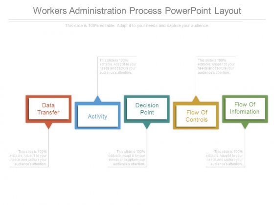 Workers Administration Process Powerpoint Layout