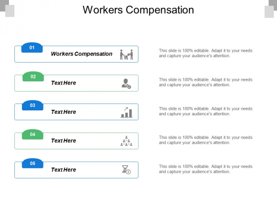 Workers Compensation Ppt PowerPoint Presentation Icon Brochure Cpb