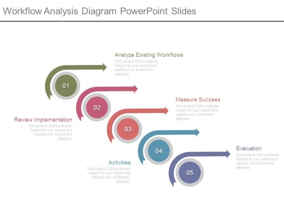 Workflow Analysis Diagram Powerpoint Slides