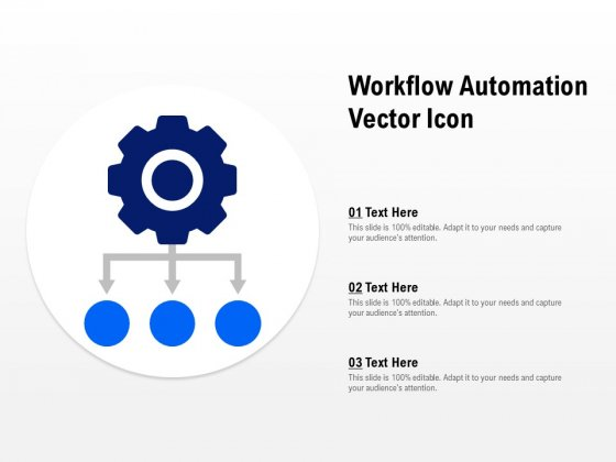 Workflow Automation Vector Icon Ppt PowerPoint Presentation File Format Ideas