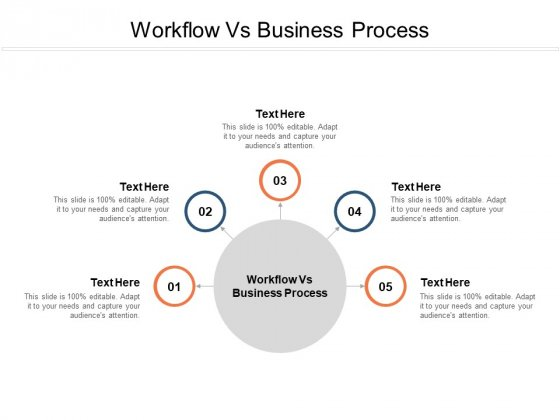 Workflow Vs Business Process Ppt PowerPoint Presentation Model Background Images Cpb